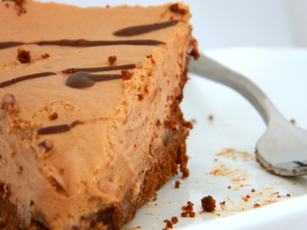 Eggless French Silk Pie