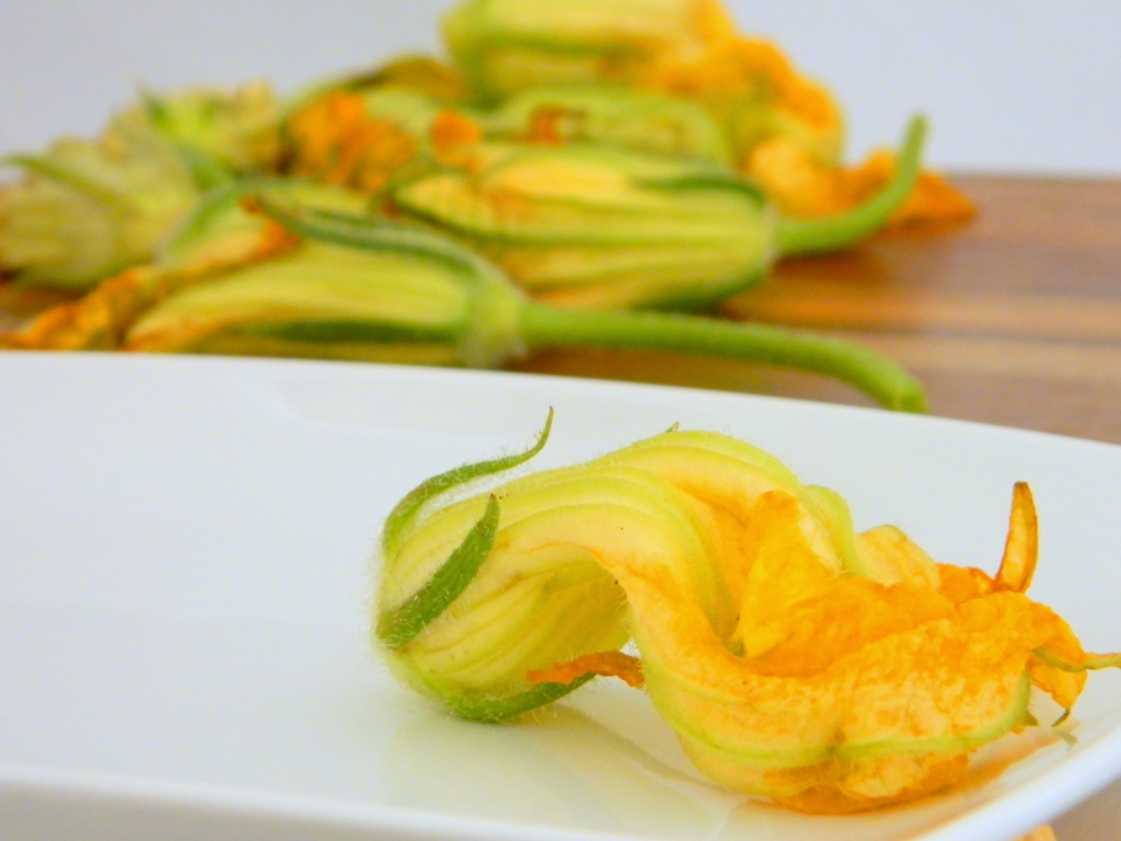 Stuffed Zuchinni Blossom