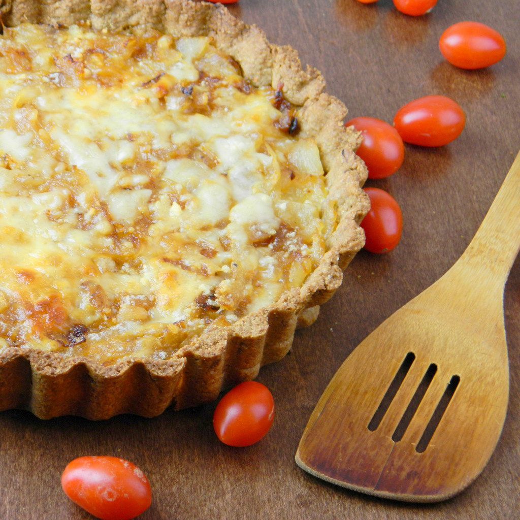 Ridiculously Good Caramelized Onion Tart